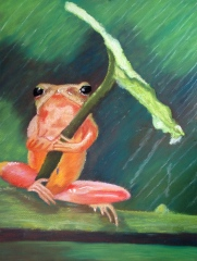 """9"""" x 12"""" Pastel Painting on Canson Pastel Paper Adapted from Photograph"""