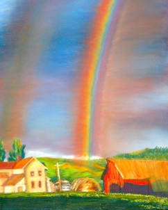 """18"""" x 24"""" Pastel Painting on Canson Pastel Paper adapted from photograph"""