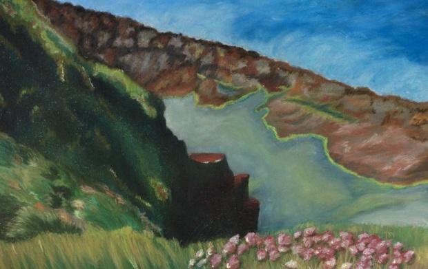 Loch na gCaorach (Pond of the Sheep)