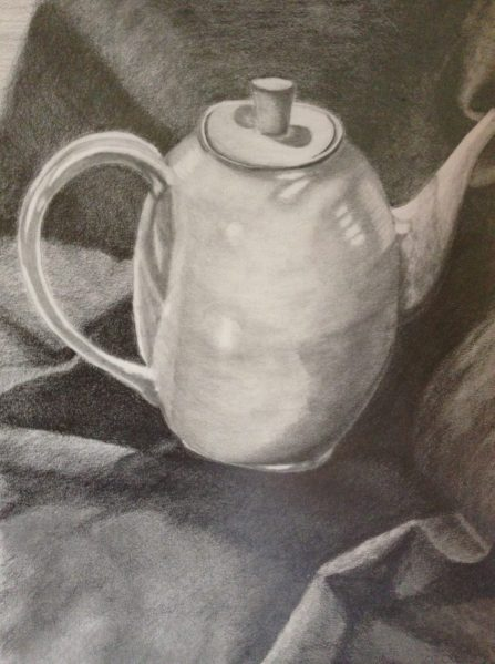 Pitcher & Fabric_Pencil_2014