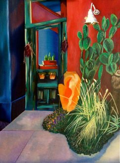 """18"""" x 24"""" Oil Painting on Canvas Adapted from Photograph"""