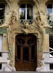 29 Ave Rapp Doorway, Paris, France