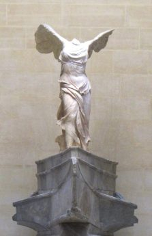 Winged Victory of Samonthrace (Nike)_ Roman Sculpture_190 BC