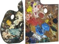 Palette of Pablo Picasso / Palette of Henri Matisse