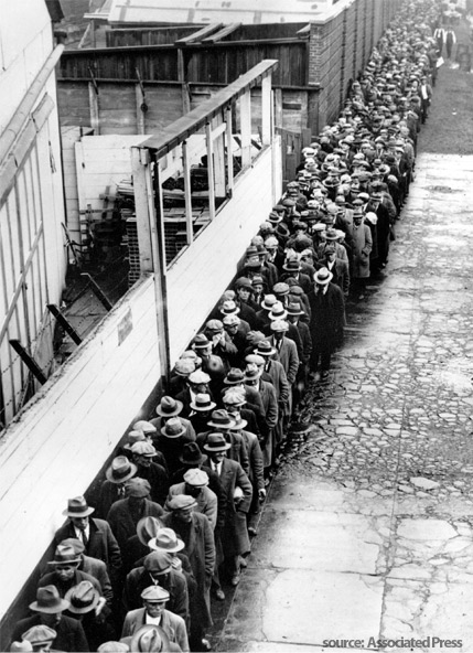 Breadline (Courtesy of Internet)