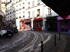 Montmartre Street, Paris