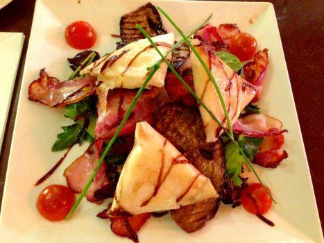 Eggplant/Goat Cheese Salad