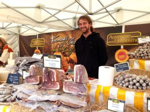 Les Halles Food Stand