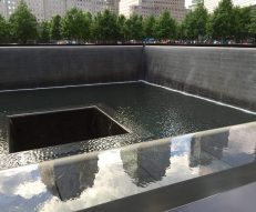 9/11 Memorial Fountain, NYC