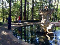Boys Admiring Sculpture