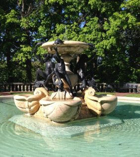 Water Fountain Sculpture