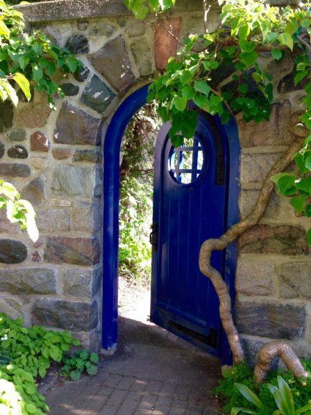 Secret Door to Cranbrook Gardens