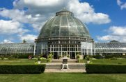 Belle Isle Conservatory , Detroit, Michigan