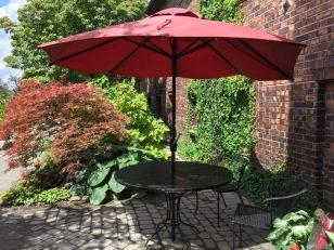 Little Red Table, Belle Isle, Detroit