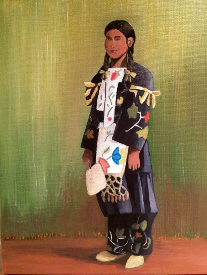 Young Ojibwe Girl