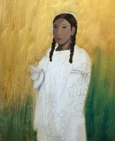 Young Ojibwa Girl