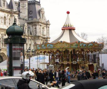 Hotel de Ville Carousel, Paris, France