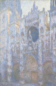 Monet, Rouen Cathedral, West Façade, 1894