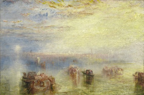 Joseph Mallord William Turner, Approach to Venice, 1844