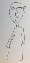 "6"" x 6"" Pen & Ink on Strathmore Bristol Board Artist Tiles"