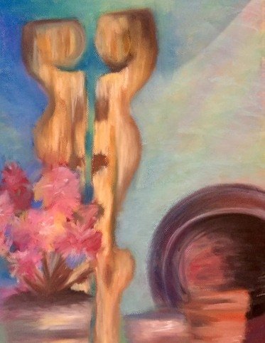 Pastel Still-life Practice