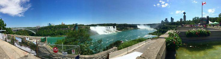 Panoramic View of Falls