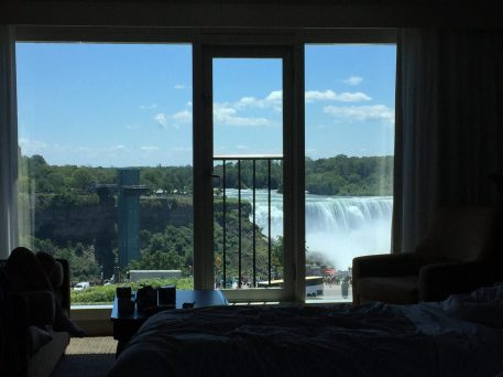 View From Inside Our Hotel Room